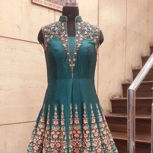 Indian party wear long dressss